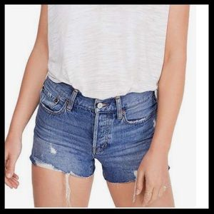 Free People Soft and Relaxed Cut-Off Shorts